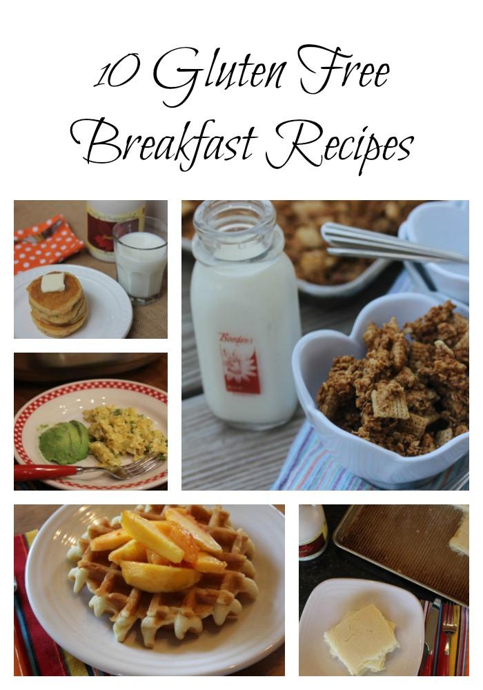 10 Gluten Free Breakfast Recipes