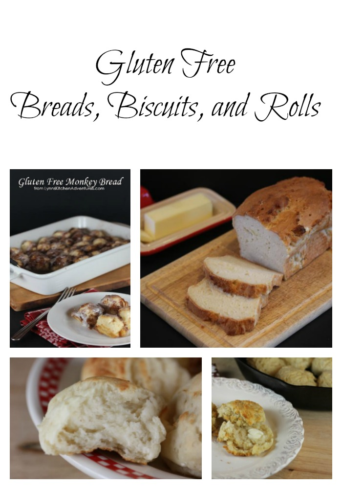 Gluten Free Bread Biscuits and Rolls