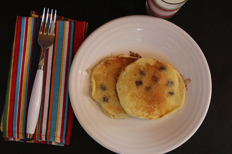 Gluten-Free-Sour-Cream-Blueberry-Pancakes