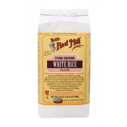 Brown Rice and White Rice Flours