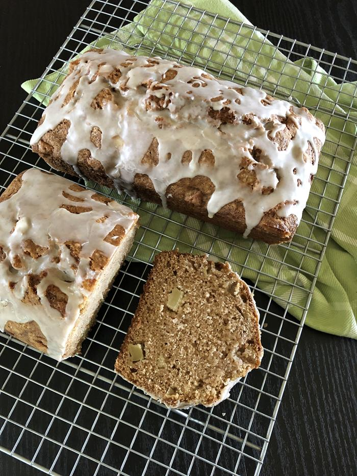 Gluten Free Dairy Free Apple Bread