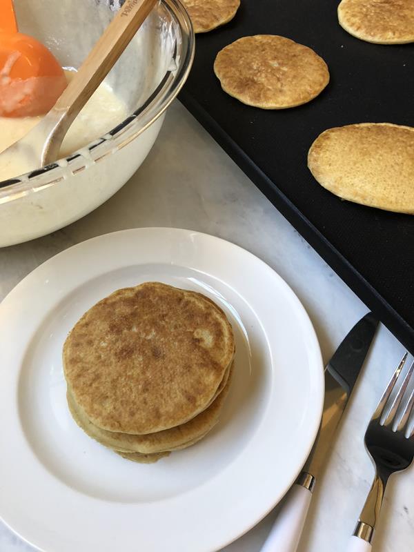 Gluten Free Dairy Free Pancakes