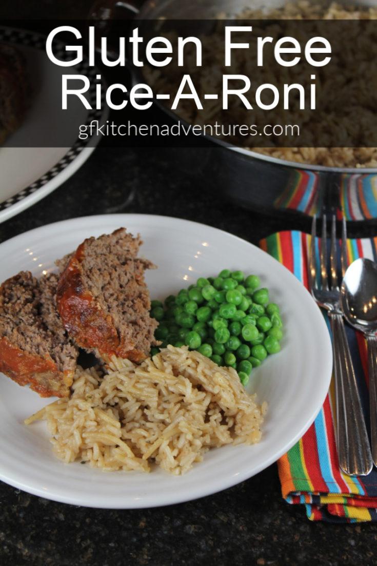 Gluten Free Rice A Roni
