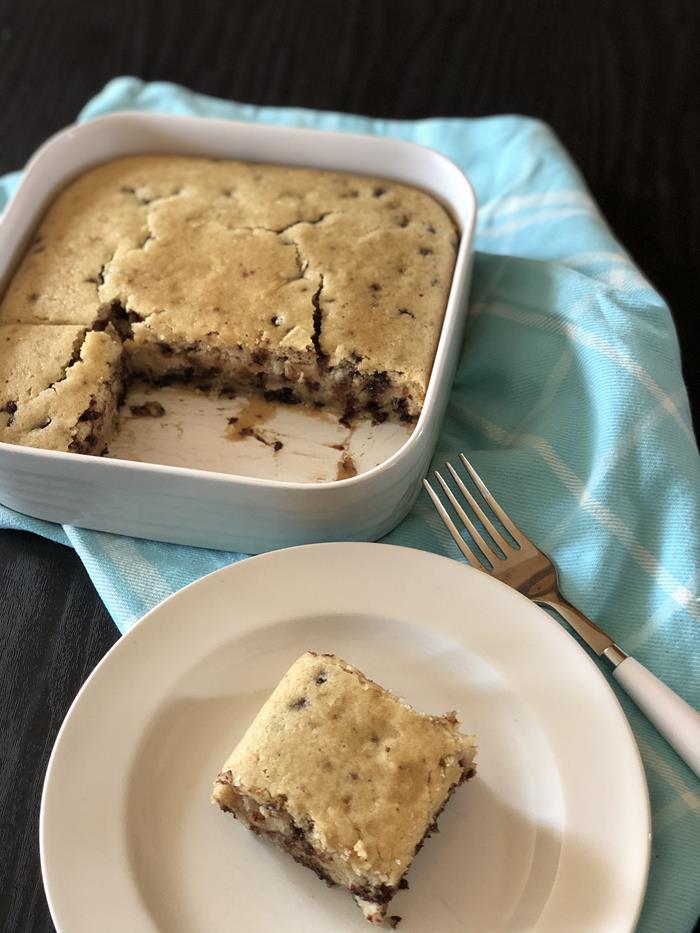 Gluten Free Vanilla Wacky Cake