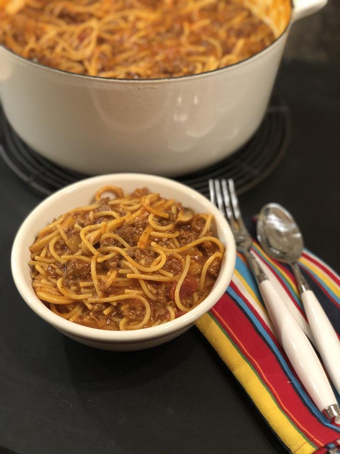 Gluten Free - One Pot Spaghetti
