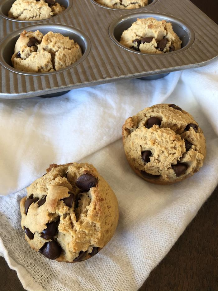 Gluten Free Peanut Butter Muffins