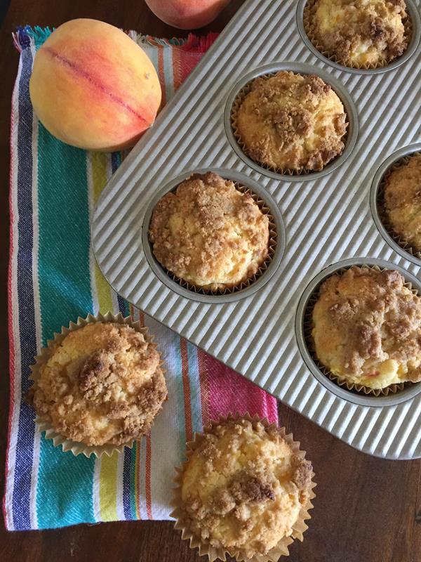 Gluten Free Peach Muffins Recipe