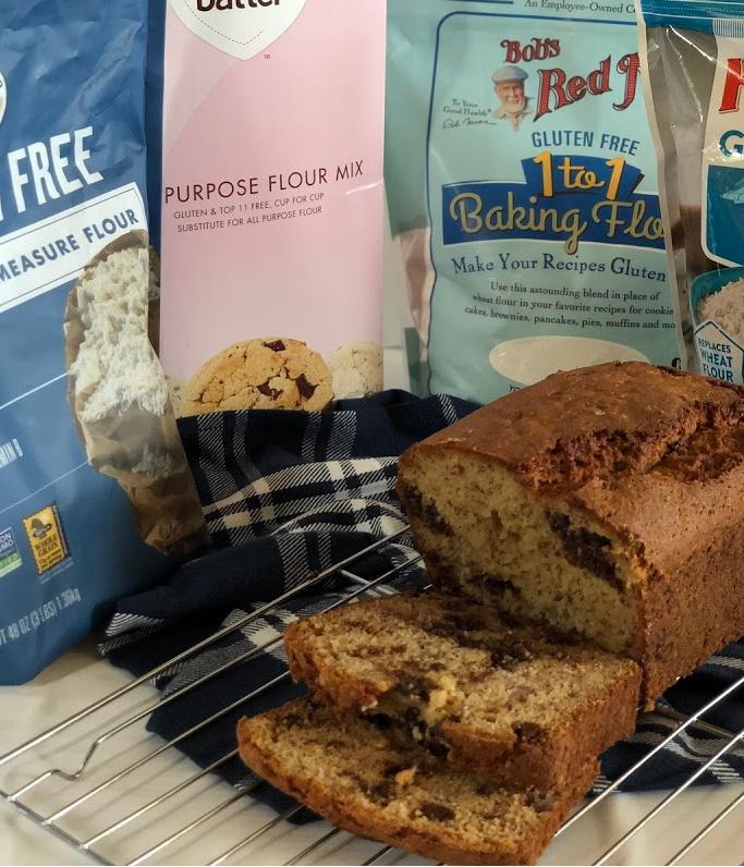 Best Flour Blend Gluten-Free Banana Bread