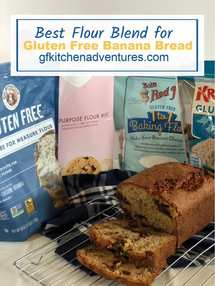 Best Flour Blend Gluten Free Banana Bread