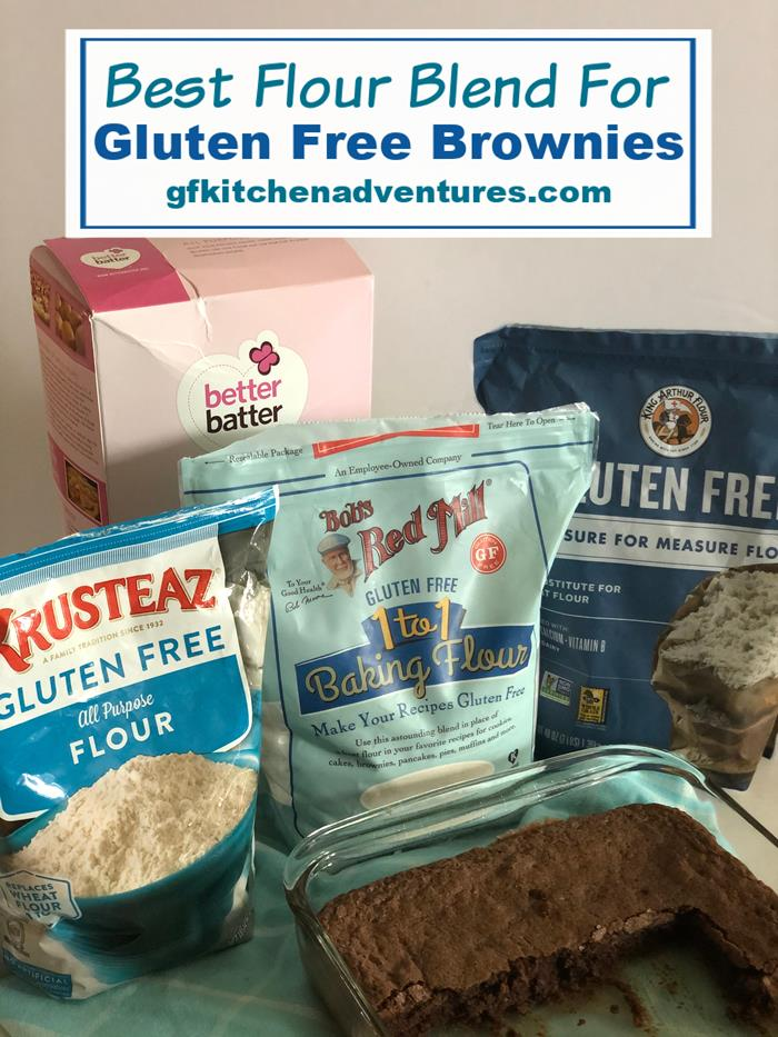 Best Flour Blend for Gluten Free Brownies