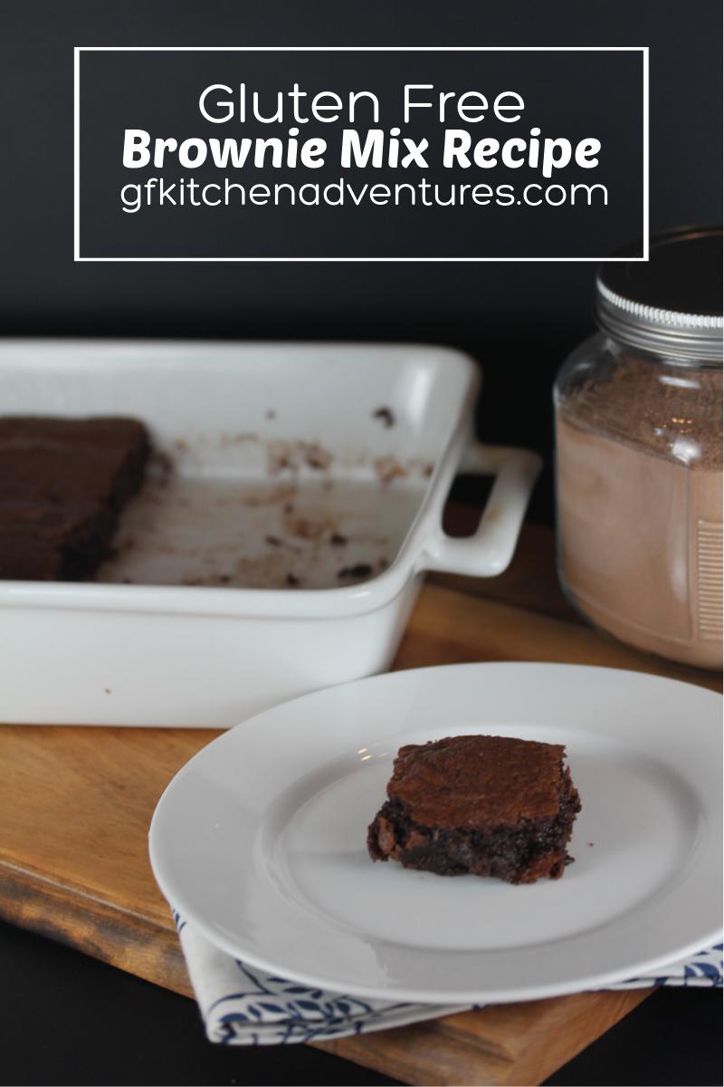 Gluten Free Brownie Mix Recipe