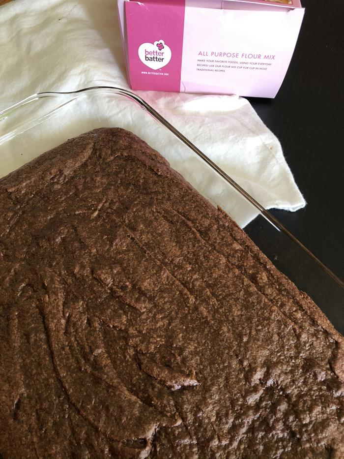 Gluten Free Brownies with Better Batter