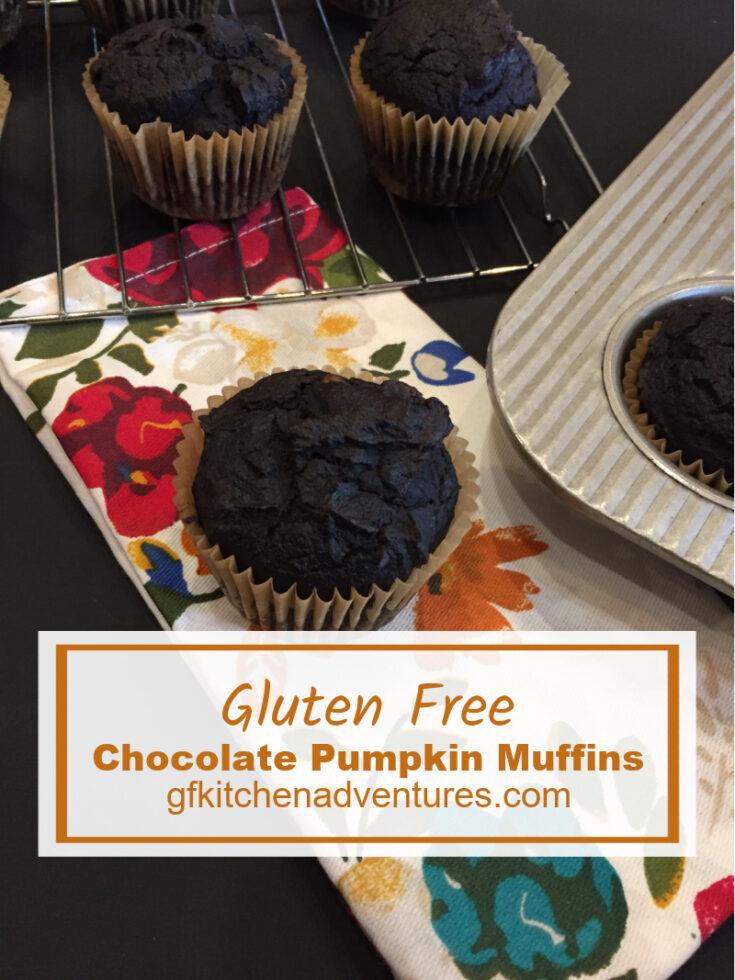 Gluten-Free Chocolate Pumpkin Muffins