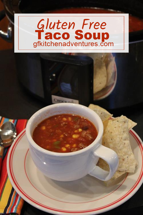 Gluten Free Taco Soup is an everyday soup that is easy to make gluten free.