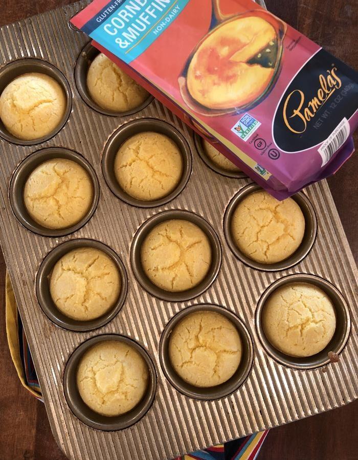 Pamelas-Gluten-Free-Cornbread-Mix-Muffins