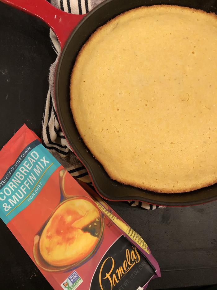 Pamela's Gluten Free Cornbread Mix