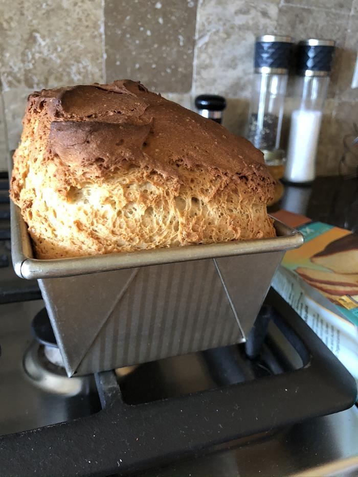 Pamela's Gluten Free Bread Mix Baked