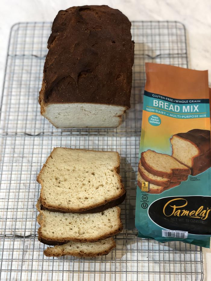 Pamela's Gluten Free Bread Mix Sliced