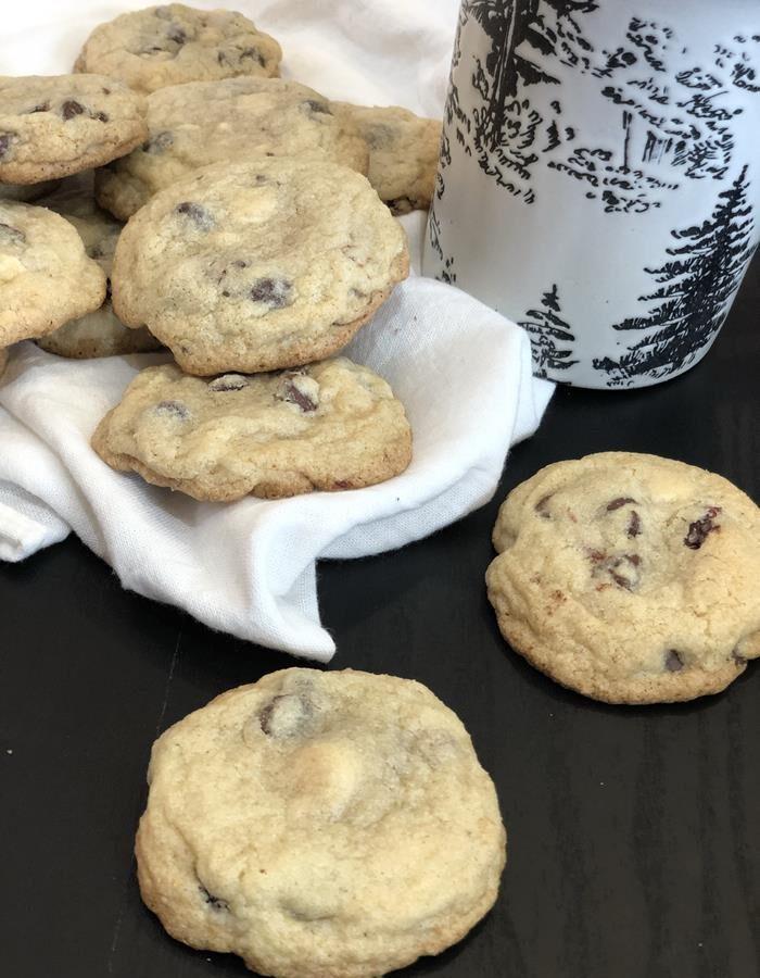 Gluten Free Cherry Chocolate Chip Cookies
