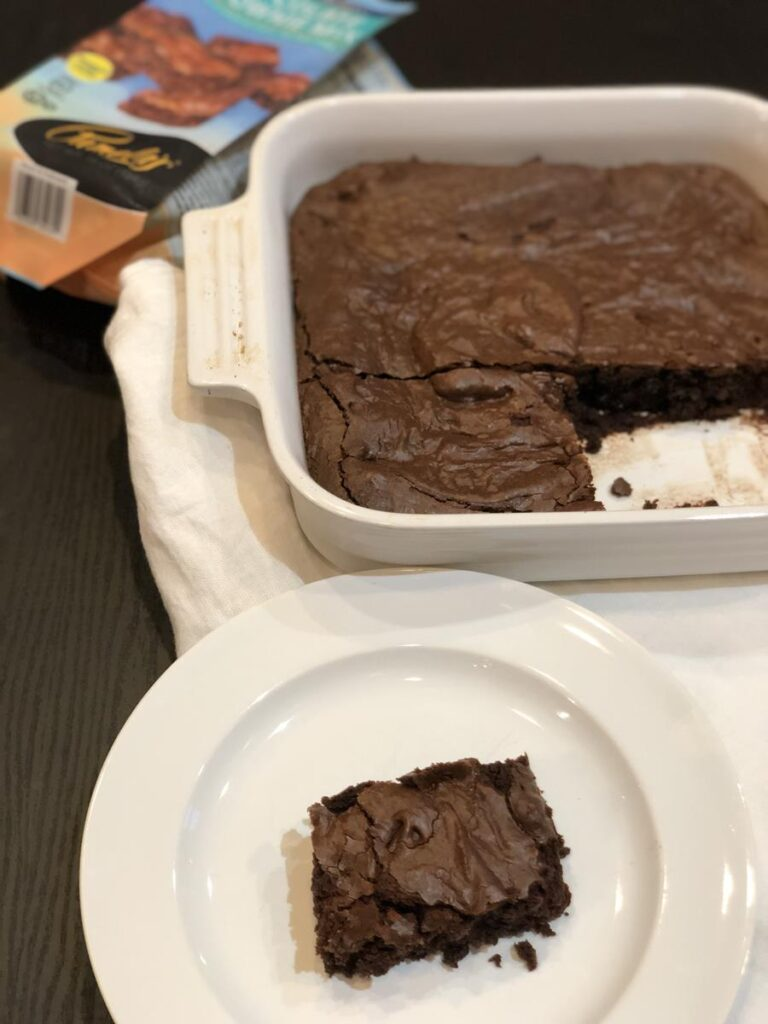 Pamela's Gluten Free Brownie Mix and brownies