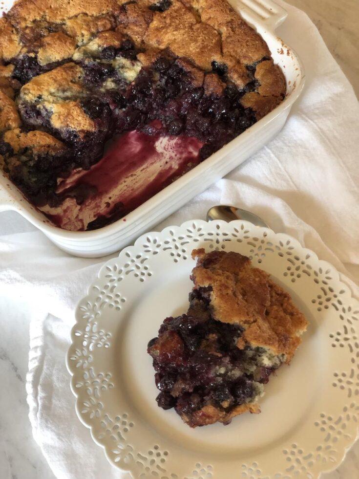 Gluten Free Blueberry Cobbler Recipe