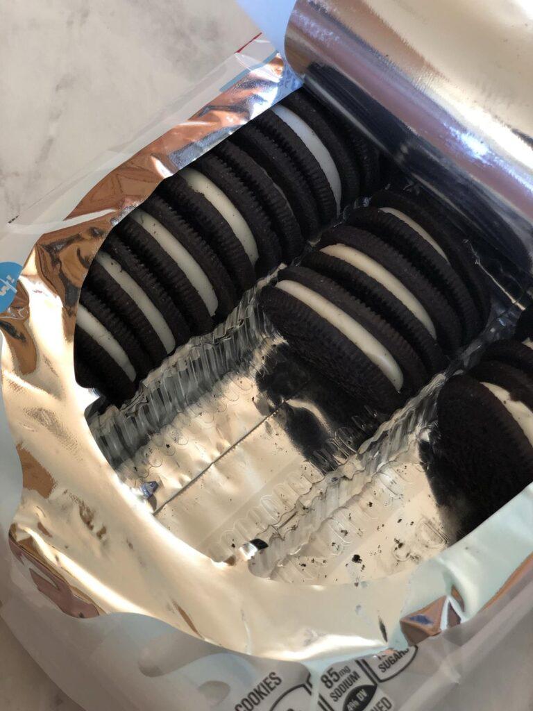 Gluten Free Oreo Cookie in package