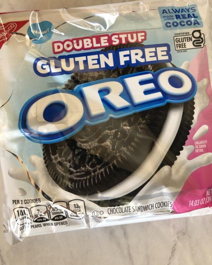 Gluten-Free Oreo Cookies double stuffed