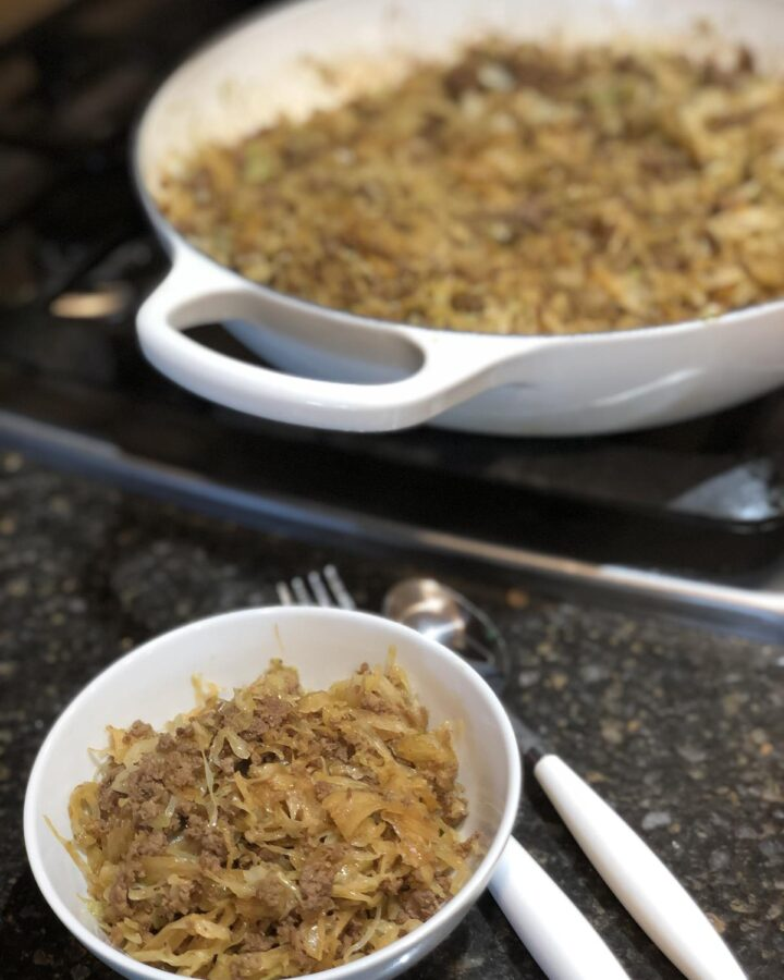 Gluten Free Egg Roll In a Bowl Recipe