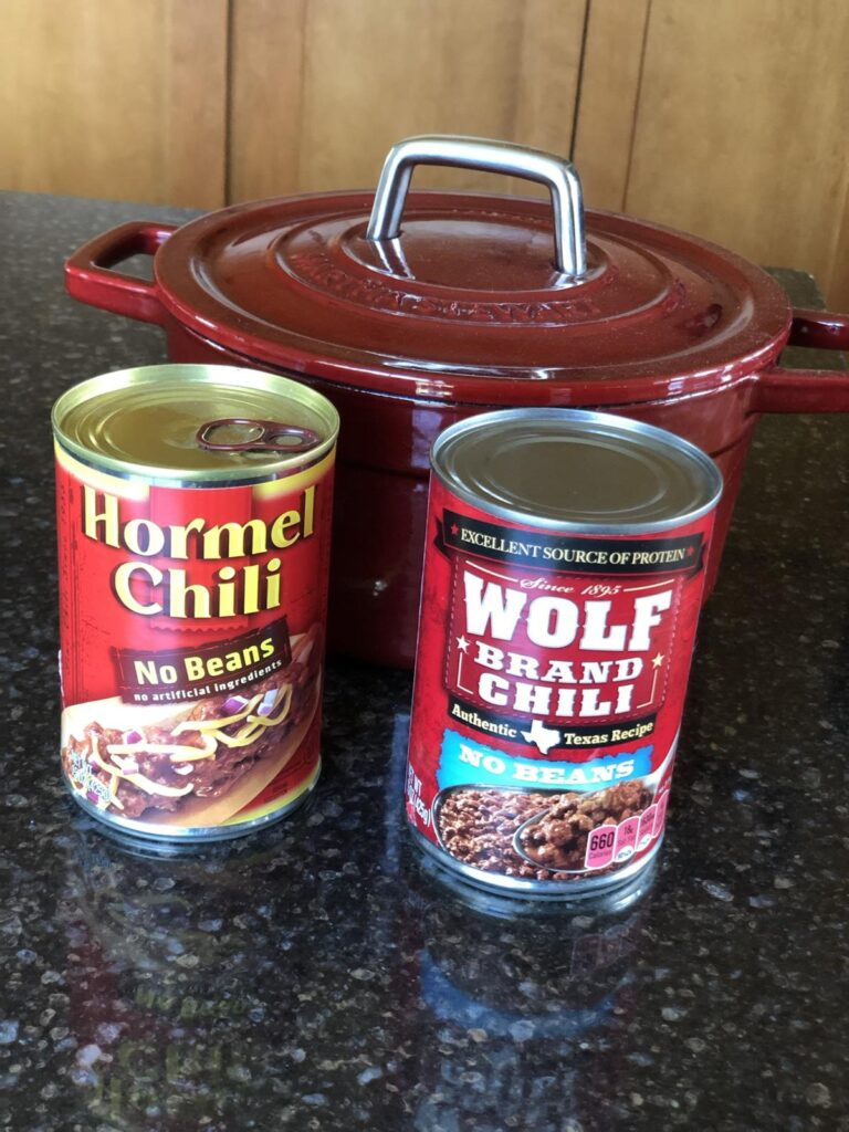 Cans of chili Is canned chili gluten free